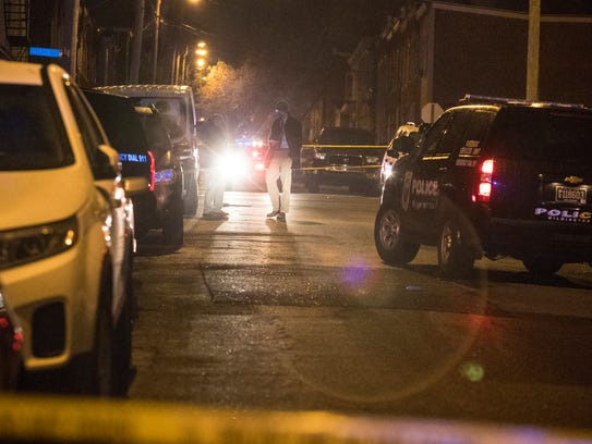 Wilmington Police investigate a shooting that occurred