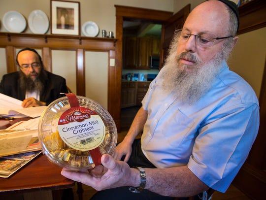 Jeff Kaufman shows a dessert that will no longer be