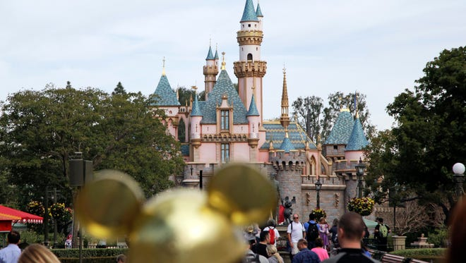 A local story about the relationship between Disneyland and the city of Anaheim, Calif., is beginning to have national consequences for the studio's films.