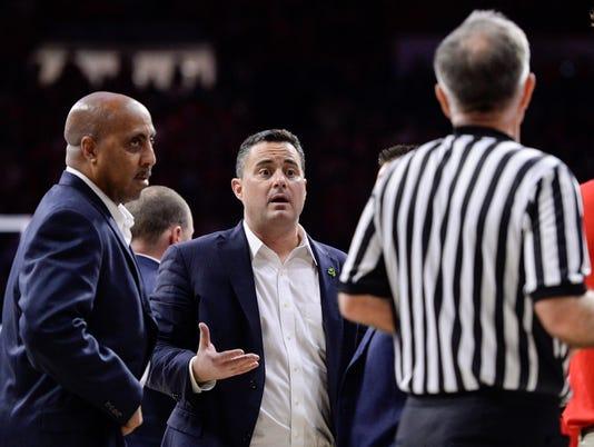 NCAA Basketball: Utah at Arizona