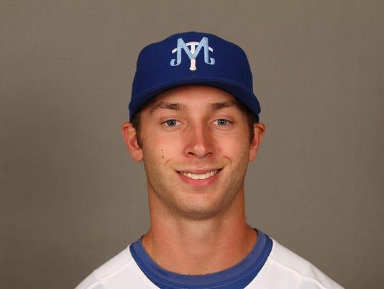 MTSU pitcher Nathan Foriest
