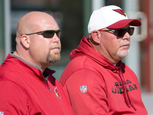 Arizona Cardinals Bruce Arians and Steve Keim