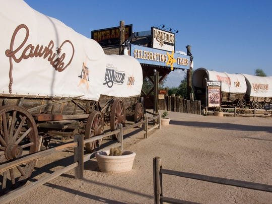 Rawhide Western Town in north Scottsdale in 2005.