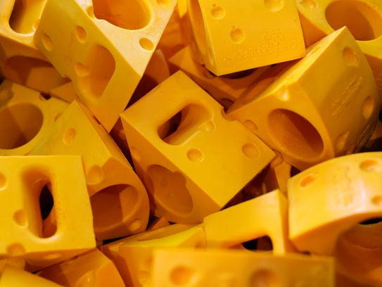 Like the traditional Cheeseheads, the similarly designed