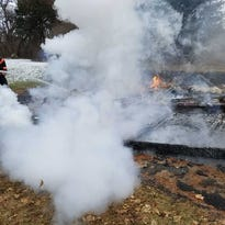 Fire at Dutchess Golf Club destroys on-course shed