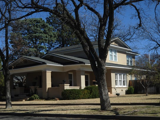 A house at 601 Amarillo St. is on the Abilene Register