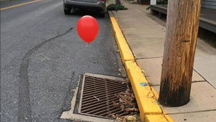 Ugh, one of those balloons popped up in Sussex County, so here we are