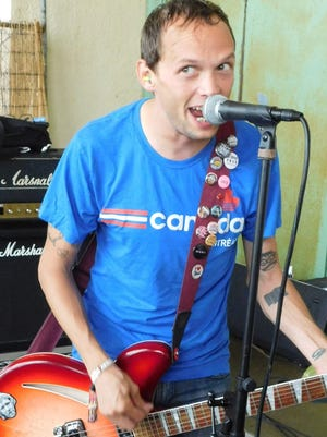"""Mikey Erg of the New Brunswick pop-punk band The Ergs! performs songs from his Don Giovanni Records solo debut album, """"Tentative Decisions,"""" on Sept. 18 at The Anchor Bar in Asbury Park."""