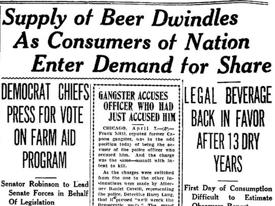 Reno Evening Gazette, April 7, 1933