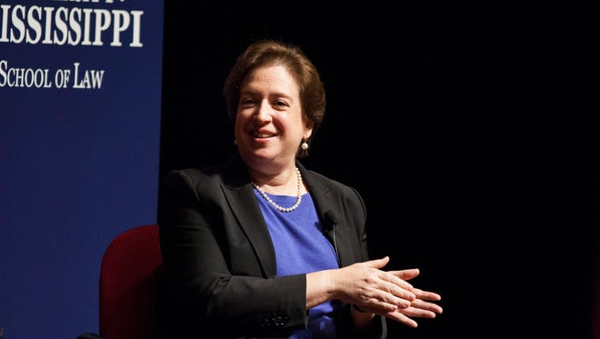 "Justice Elena Kagan said prosecutors in a 1987 Georgia murder trial ""wanted to get all the black people off the jury."""