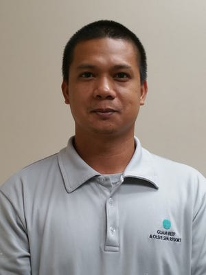 "Homer Ocampo, General Technician, was awarded the ""Employee of the 4th Quarter"" Aug. 18.  The award was presented to him for his exceptional job performance and achievement based on the credo and mission statement of Guam Reef & Olive Spa Resort."