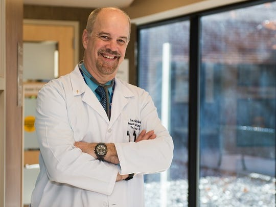 Dr. Robert Roland, chief, infectious diseases, Overlook Medical Center in Summit.