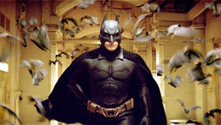 "Christian Bale made his first run as the caped crusader in Christopher Nolan's 2005 film ""Batman Begins."""