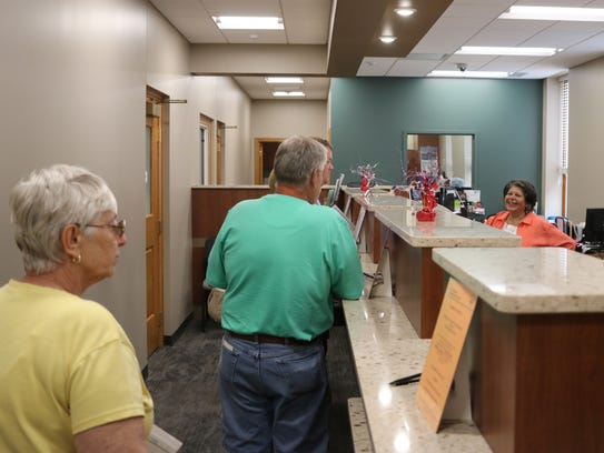 Community members were invited to tour the recently