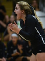Oak Park's Allyson Hawkins was named the girls volleyball