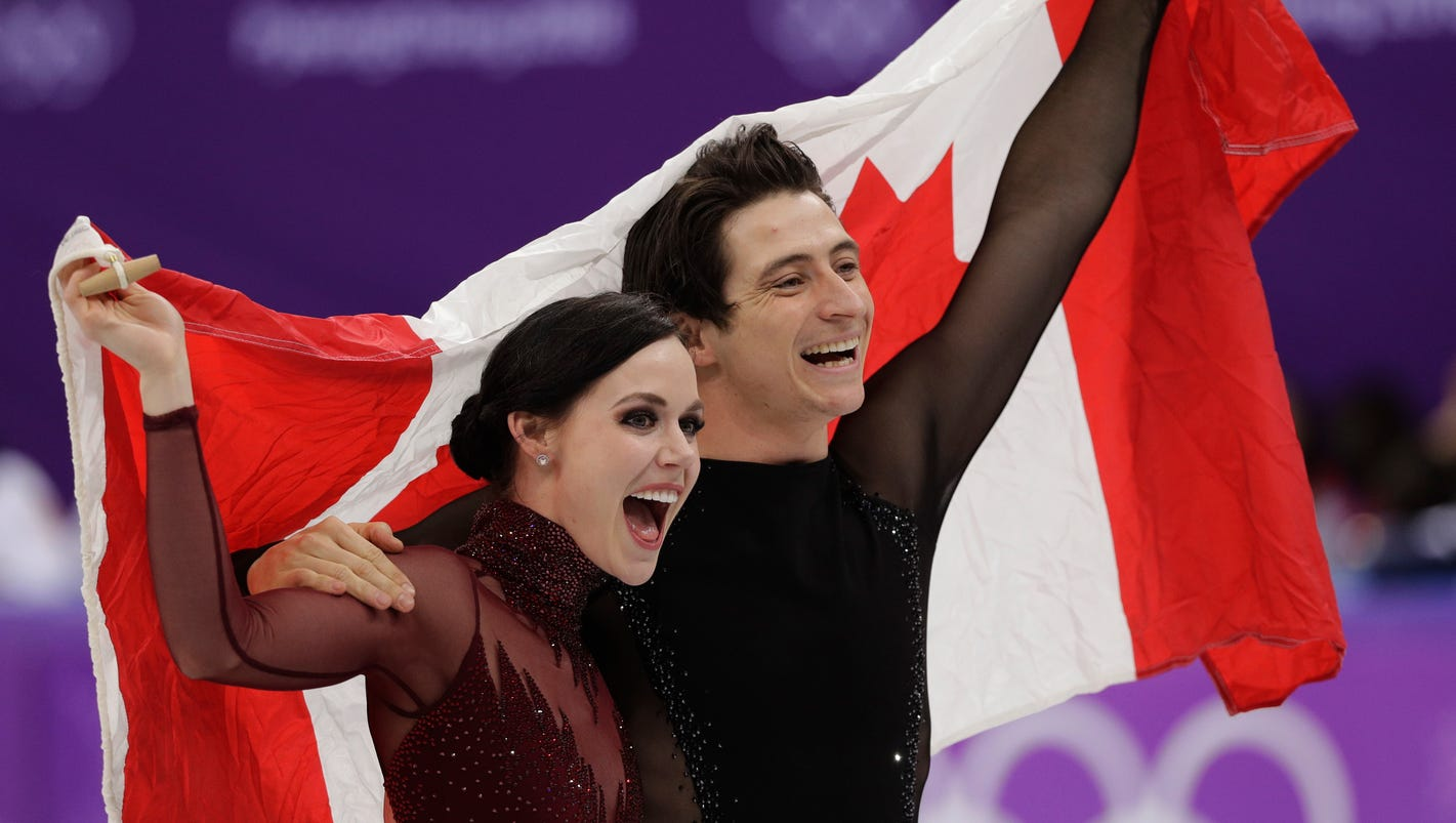 Virtue, Moir win ice dance for third career Olympic gold