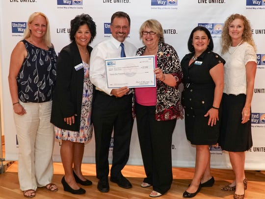 United Way presented a grant to ARC of Martin County