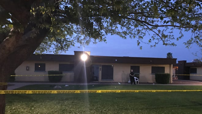 A 49-year-old woman was killed on March 17, 2017, the apparent victim of domestic violence, Peoria police said.