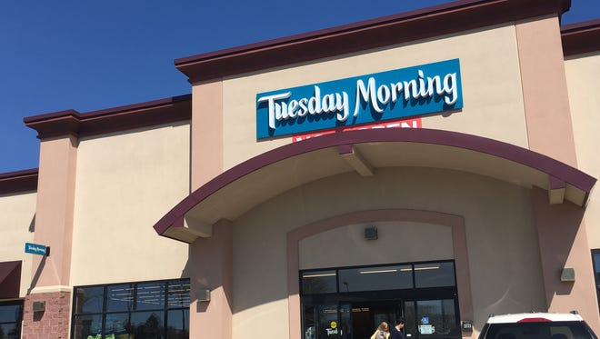 Tuesday Morning just opened in its new, larger location at Plaza 41, 2721 W. 41st St. The location also hired on more staff for the larger store.