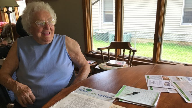 At 95,  Pompton Lakes resident Jeanette Sweetman Poulsen reflects on her time as the Pompton Lakes school nurse and volunteering for her church.