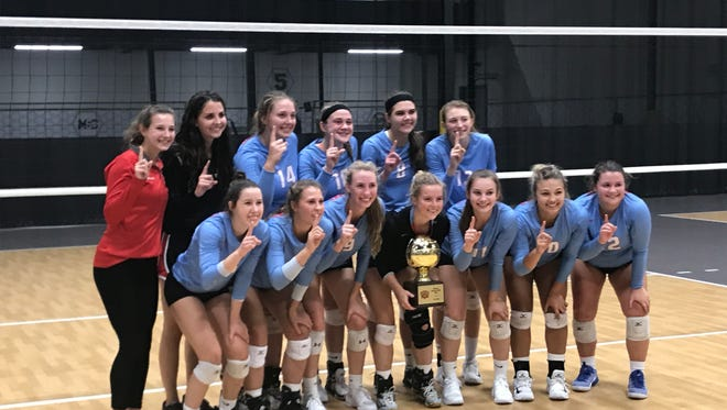 Arrowhead's girls volleyball team won the Mizuno Charger Rally Saturday at the Milwaukee Sting Center