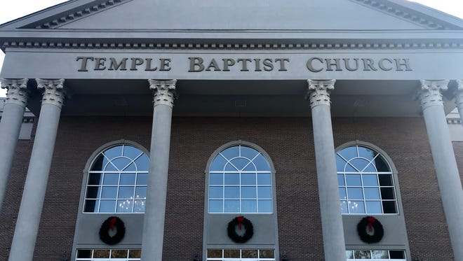 Temple Baptist Church in Powell.