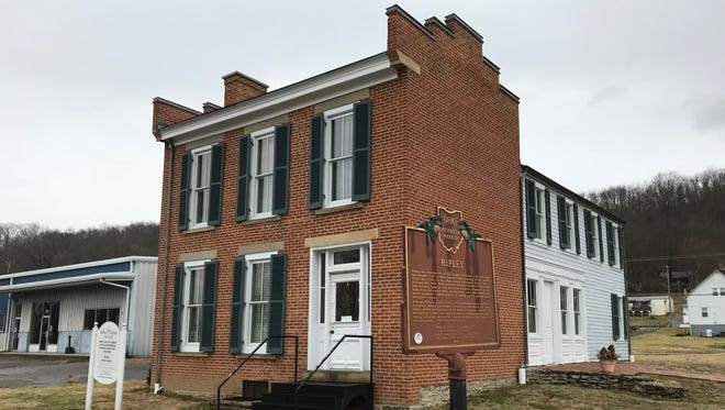 The John P. Parker House in Ripley, Ohio, is dedicated to the former slave and Underground Railroad conductor.