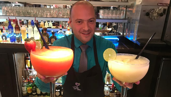 Tony Nassri, manager of Los Bandidos de Carlos & Mickey's, says it's Margarita Day every day at the popular restaurant.