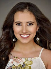 Abrianna Morales, Miss New Mexico's Outstanding Teen.