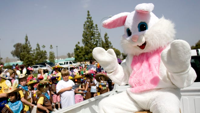 Visit with the Easter Bunny.