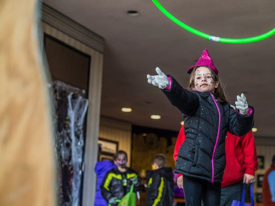 Children enjoy the City of Richmond's Halloween Fun Fest at the municipal building on Tuesday, Oct. 31, 2017.