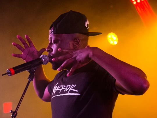 Wyclef Jean performs at the Stone Pony as part of Asbury Park Music and Film Festival on Saturday, April 28, 2018