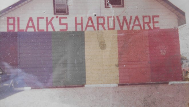 In the early days of Black's Hardware in Irondequoit, the store was painted the colors of the rainbow.