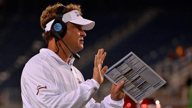 Former Alabama assistant coach Lane Kiffin led Florida Atlantic to an 11-3 record last season.