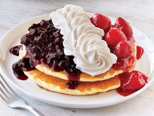 There's always room for pancakes at Ihop restaurants.