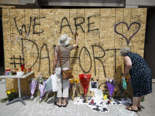 BESTPIX - Toronto Mourns Victims Of Mass Shooting That Killed 2 And Injured 13