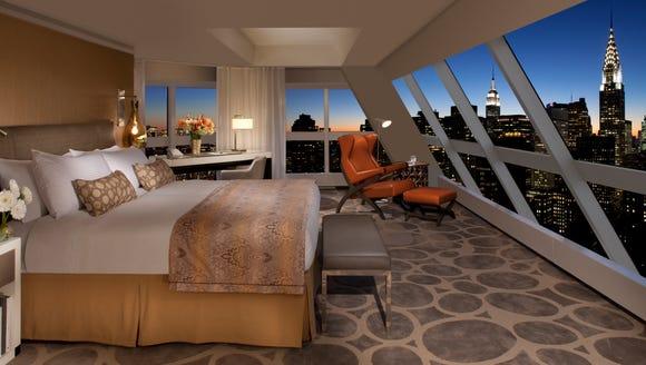 The Millennium Hilton New York One UN Plaza has two-bedroom