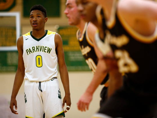 Parkview's own Tyem Freeman seen here playing on his