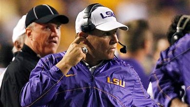 It's almost time for LSU head coach Les Miles to work the sidelines again as the 2014 season is almost here.