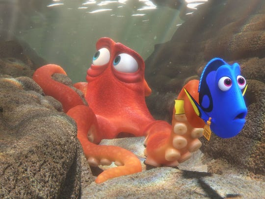 """""""Finding Dory,"""" a Walt Disney, 3D computer-animated"""