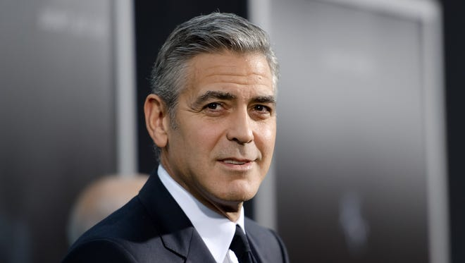 "George Clooney attends the ""Gravity"" New York premiere at AMC Lincoln Square Theater on Oct. 1, 2013."