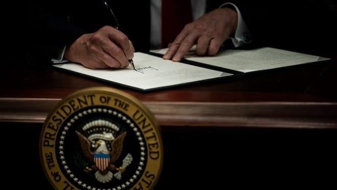 Leyes ejecutivas de Trump