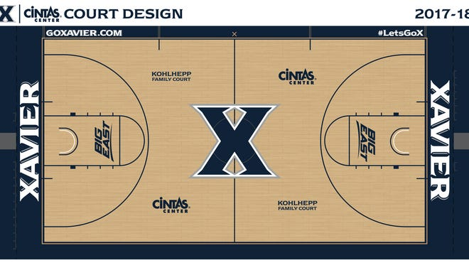 Cintas Center will have many new-look features for the 2017-18 basketball season, and perhaps the most important of those will be on the court itself, which now bears the name of one of the all-time great advocates for Xavier athletics.