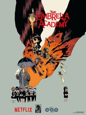 Netflix is adapting Gerard Way and Gabriel Bá's comic book 'The Umbrella Academy' as a live-action series.
