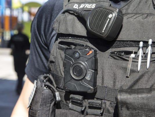 Peoria police body cameras