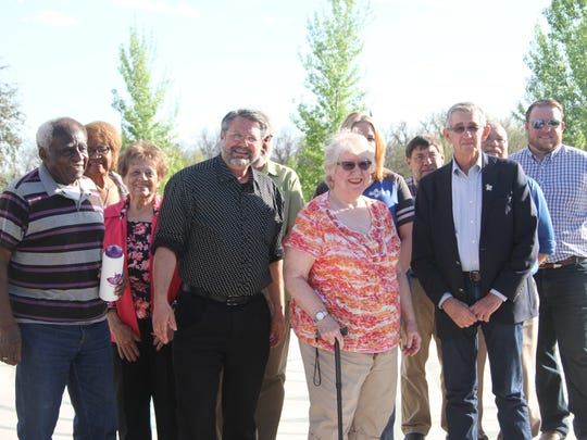 Carlsbad Mayor Dale Janway, city officials, member of the Arbor Day tree board and community members celebrated Arbor Day on Tuesday.
