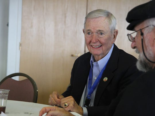 William Purkey, co-founder of the International Alliance for Invitational Education, attend the 35th annual world conference Wednesday, Oct. 18, 2017, in Carlsbad. Purkey has attended every conference.