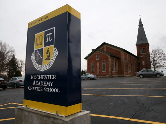The Rochester Academy Charter School has moved into the former Our Mother of Sorrows Church and school in  Greece.
