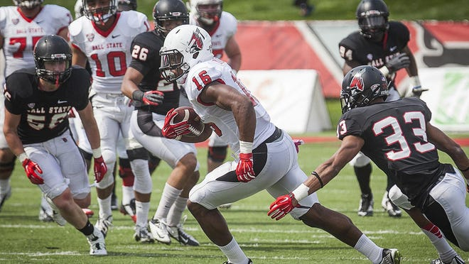 Ball State's KeVonn Mabon is part of a deep and talented receiving group.