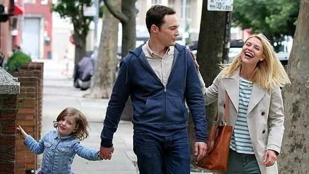 """From left, Leo James Davis, Jim Parsons and Claire Danes star in """"A Kid Like Jake"""""""